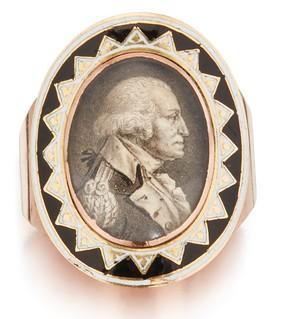 Lafayette's George Washington Mourning Ring