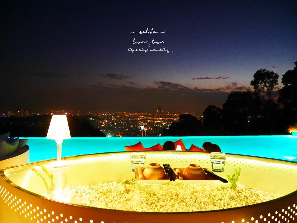 台北陽明山必吃美食夜景景觀餐廳THETOP屋頂上浪漫情人節聖誕節推薦 (4)