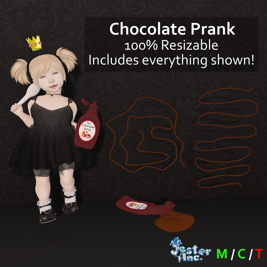 Presenting the Chocolate Prank from Jester Inc.