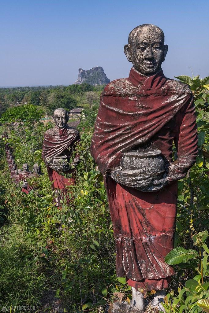 Statue - Win Sein Monastery