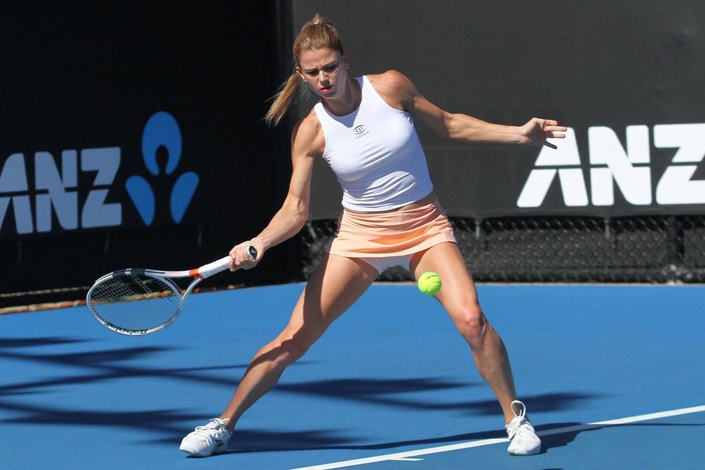 Geile Tennisspielerin