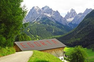 BZ Val Pusteria Sesto in Pusteria verso la Val Fiscalina