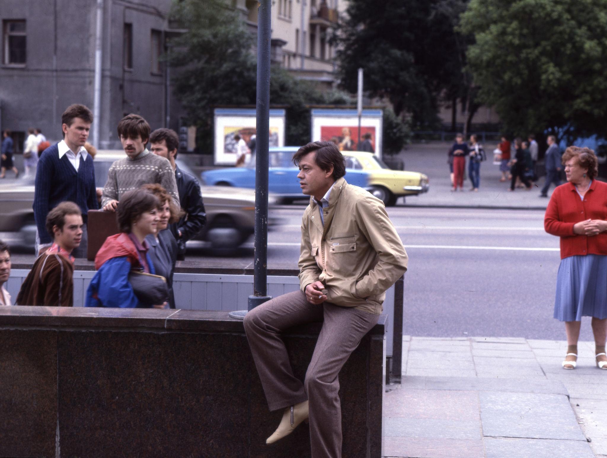 1977. Николай Петрович Караченцов.Москва