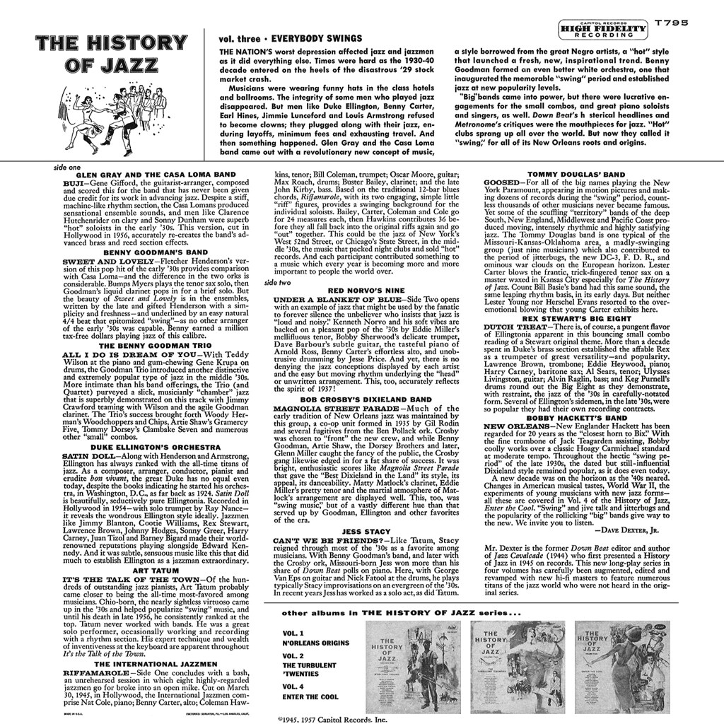 The History of Jazz Vol 3