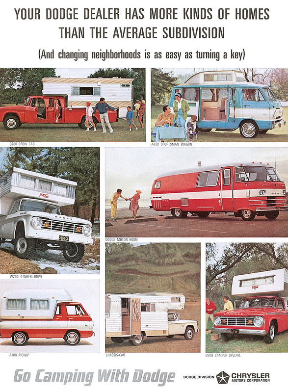 1965 Dodge Motorhomes