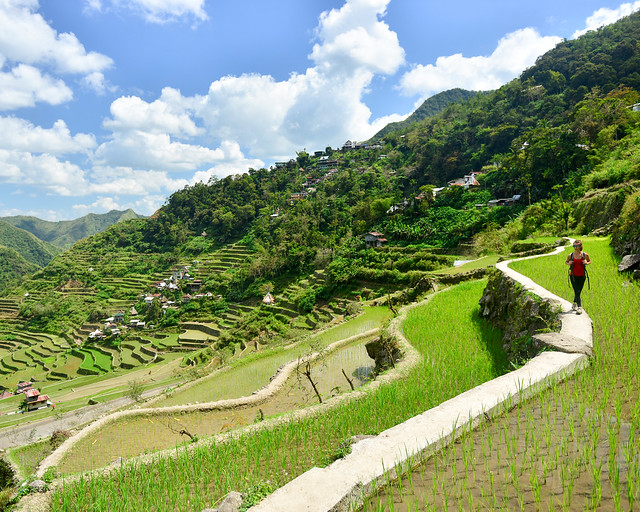 Arrozales de Batad en Filipinas