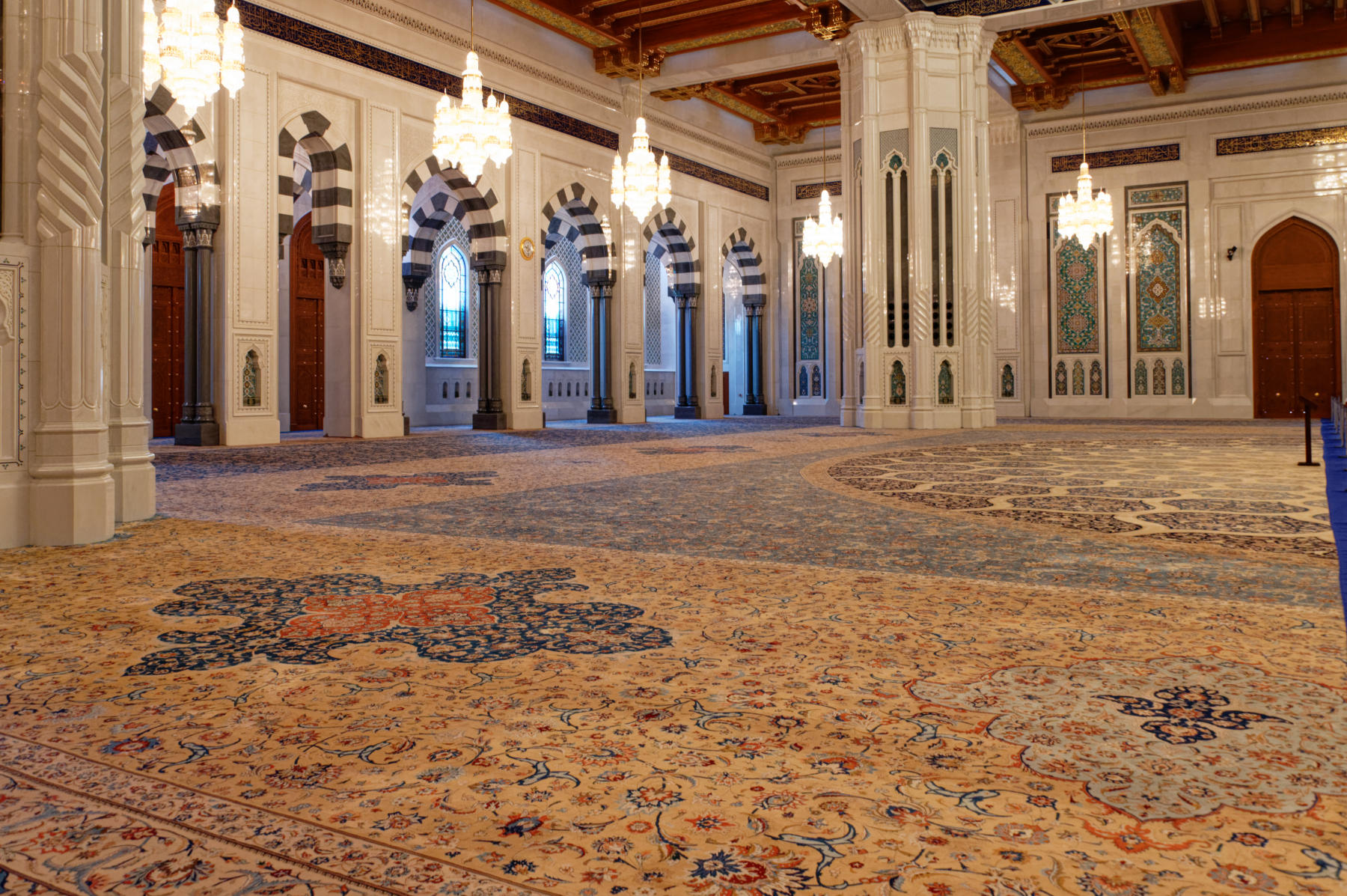 Prayer Hall carpet