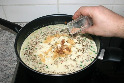 27 - Mit Muskatnuss abschmecken / Taste with nutmeg