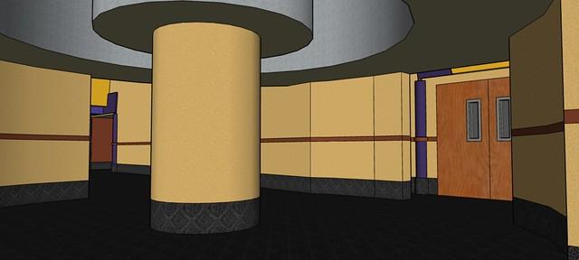Custom 20-Screen Regal Cinemas Layout: Fairland 20 - Theater 10 Entrance Hub