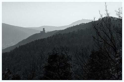 Chateau d'Ortenbourg und Hochkönigsburg