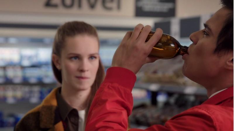 GTST Q Lana smaakt naar alcohol