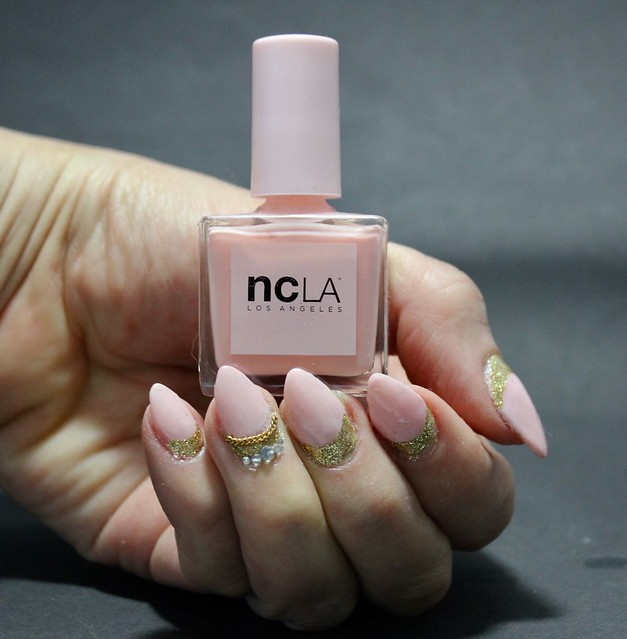 ncla rose sheer nailpolish kynsilakka