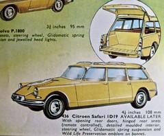 1958-1967 CITRO�N ID 19 Break by Corgi Toys