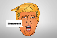 Klimawandel-als-Trump-Donald-Karikatur