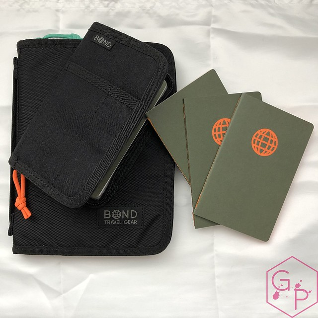 Bond Travel Gear Wallet & Field Journal & Tomoe River Notebooks Review 8