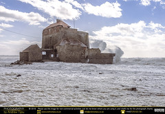 Fort D'Ambleteuse & The Rough Waves