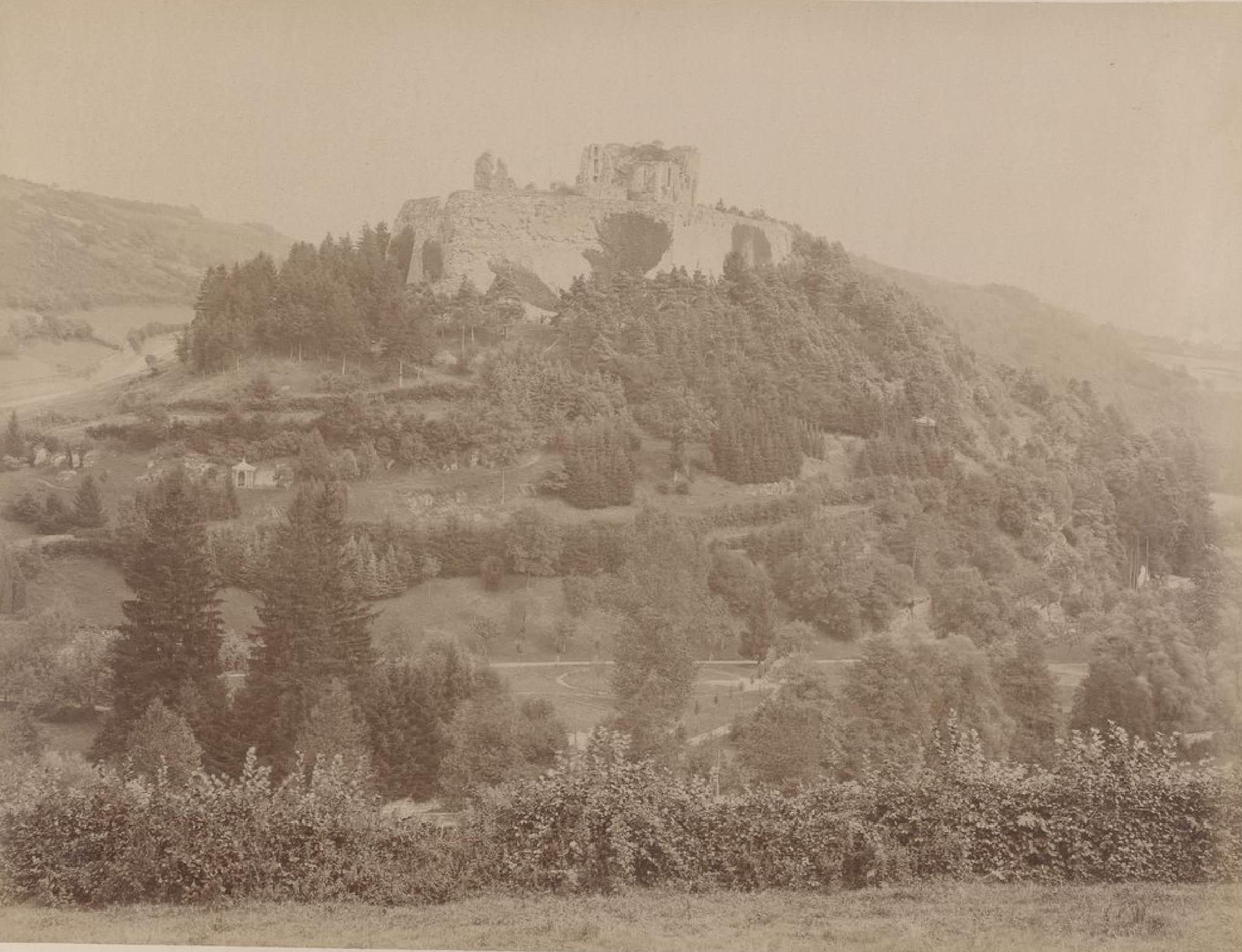 Бельгия. Окрестности Спа. Руины Франчаймонта, 21 мая 1888