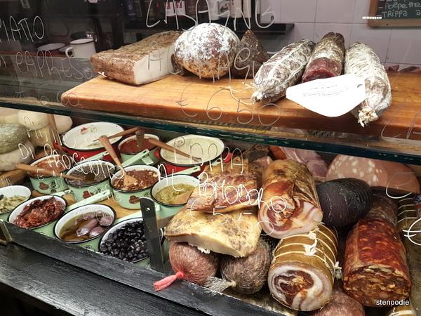 La Prosciutteria Firenze meats