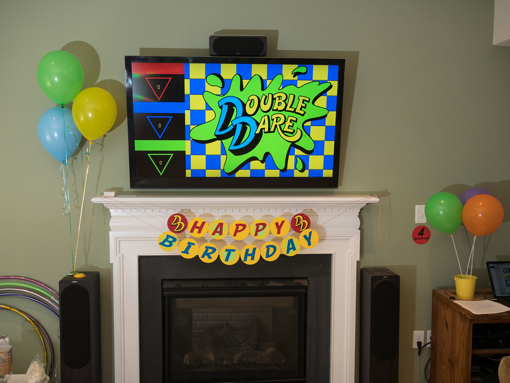 Double Dare display