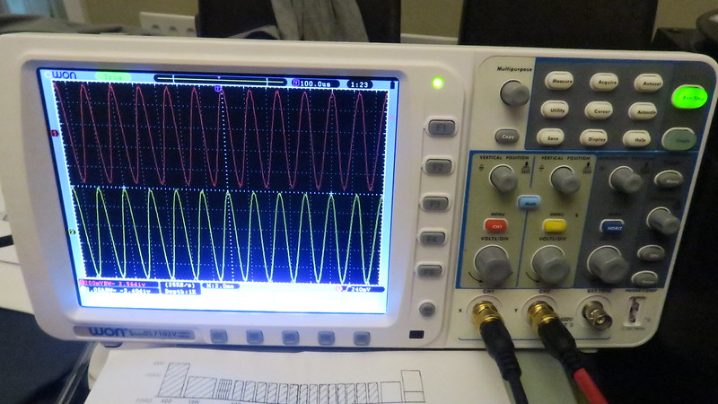 Studer A810 using oscilloscope for azimuth - Tapeheads Tape, Audio