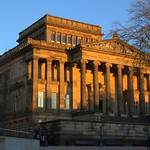 Sunlit Harris Museum in Preston