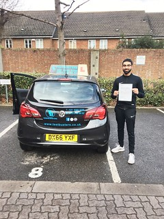 Yaaaayyyy ..my boy Arvin passed 1st time at Isleworth this afternoon...both boys done n dusted..only my girls left!!!!!! Well done son!!!🚗🚗🚗🚗🚗 | by testbusters