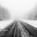 Down a Black Road by Ken Krach Photography