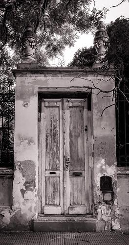 Old Entrance B/W...