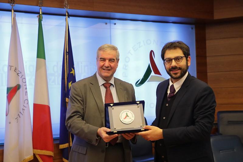 Visita del Sottosegretario alla Difesa Angelo Tofalo