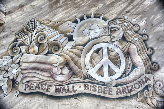 Peace. Wall.