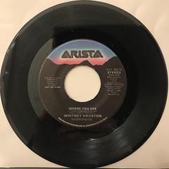 WHITNEY HOUSTON:WHERE DO BROKEN HEARTS GO(RECORD SIDE-B)