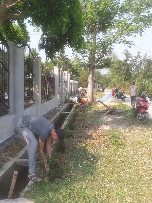 Tuổi trẻ xã Tam Đại xây dựng nông thôn mới