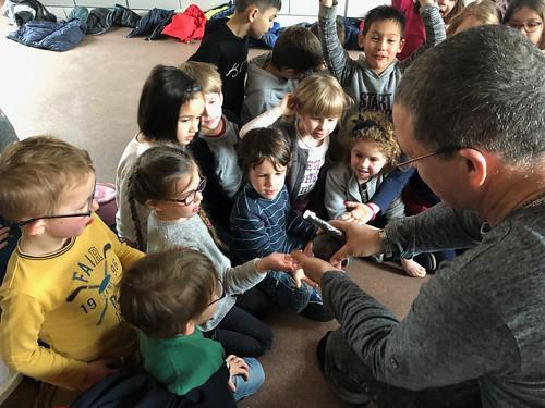 LE PLANETARIUM ITINERANT à l'École !