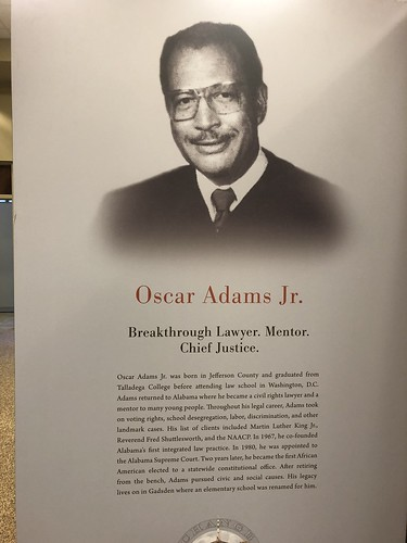 Oscar Adams Jr Lawyer, Mentor Chief Justice
