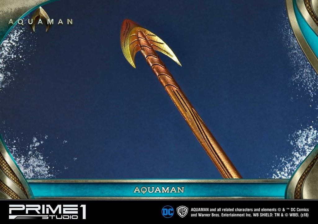 Prime 1 Studio《水行俠》水行俠 アクアマン MMAM-01EX 1/3 比例全身雕像作品