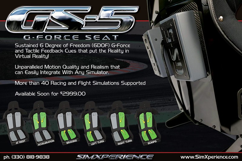 SimXperience GS-5 G-Seat
