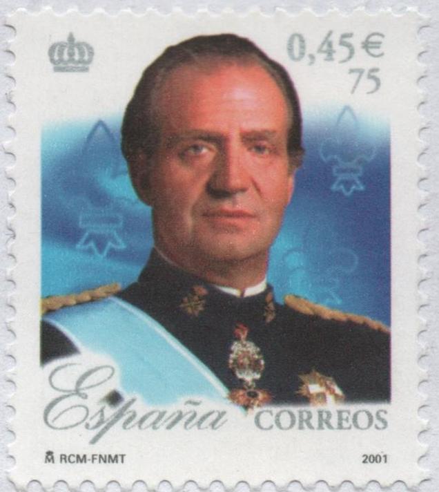 Spain - Scott #3132e (2001)