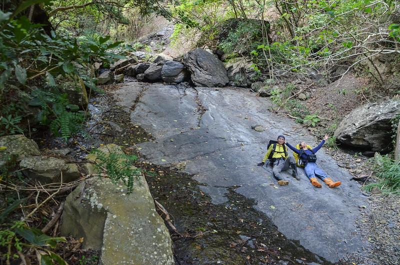 安朔溪支流光滑大岩板 (5)