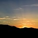Mountain Sunset Panoramic Smoky Mountains