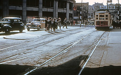 US NY NYC - Third Avenue Railway System 293 -(116617) Fordham Rd looking west between 3rd Ave & Webster