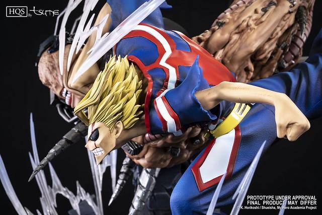 「和平的象徵」耗盡所有力量的最終一擊!! Tsume-Art HQS 系列《我的英雄學院》United States of Smash 全身雕像作品