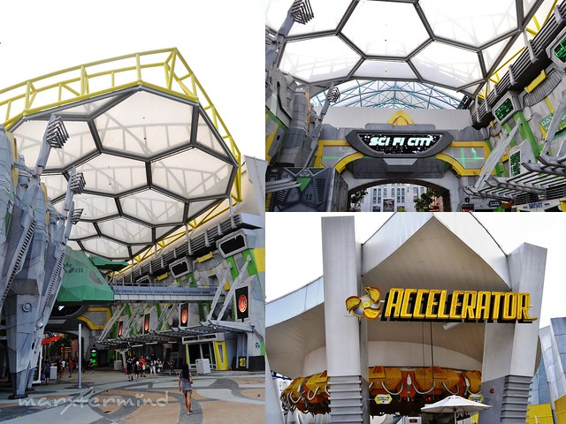 Sci-fi City Universal Studios Singapore