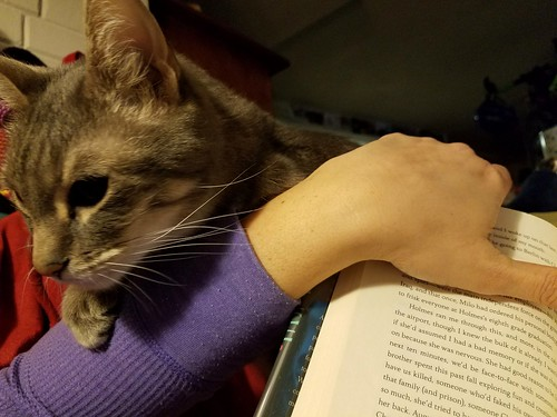 Corey Helping Me Read
