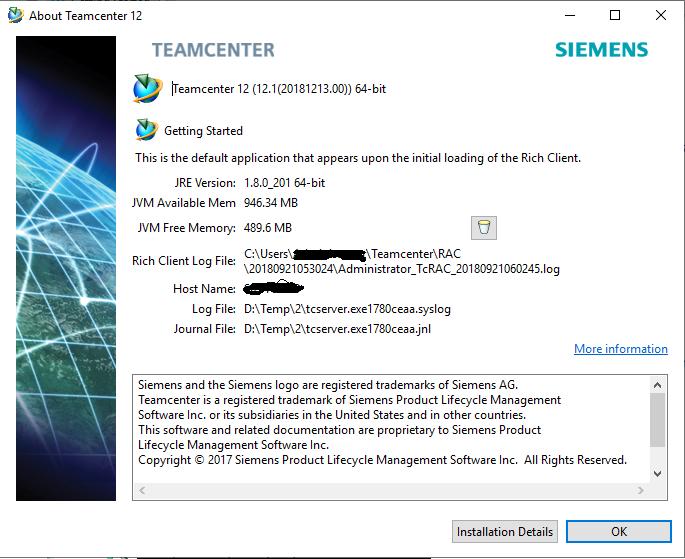 Teamcenter 12.1 x64 full license
