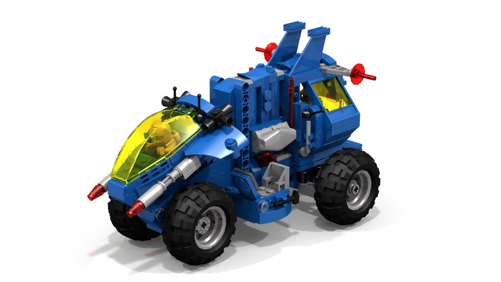 Neo Classic Space Mobile Recovery Vehicle