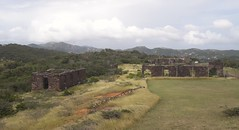 Ruins of Officers Quarters. The Blockhouse, Shirley Heights,  Antigua, Antigua and Barbuda