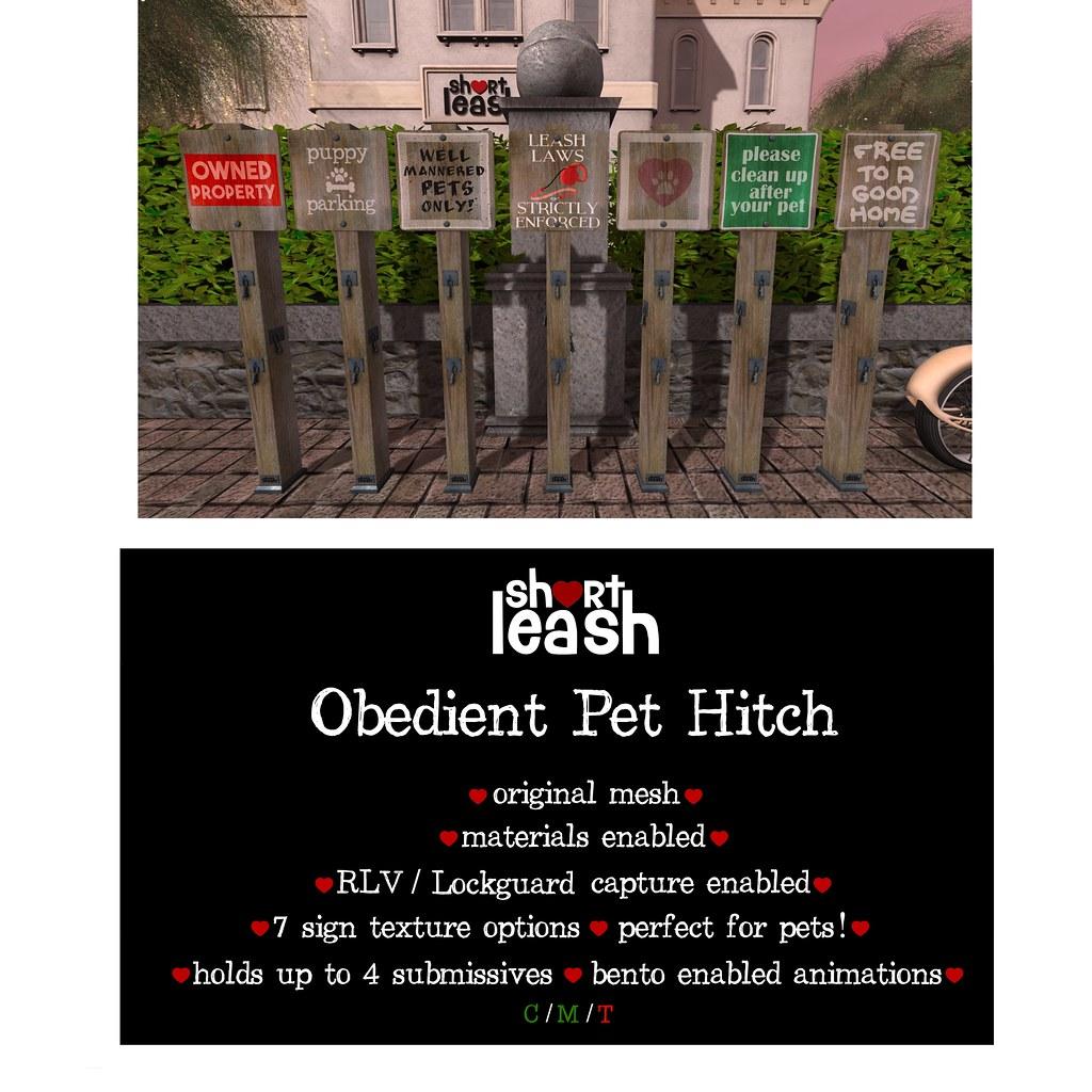 .:Short Leash:. Obedient Pet Hitch - TeleportHub.com Live!