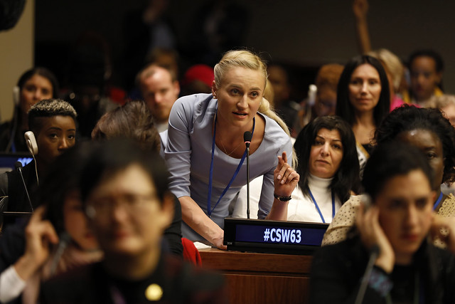 CSW63 - The 63rd Session of the Commission on the Status of Women