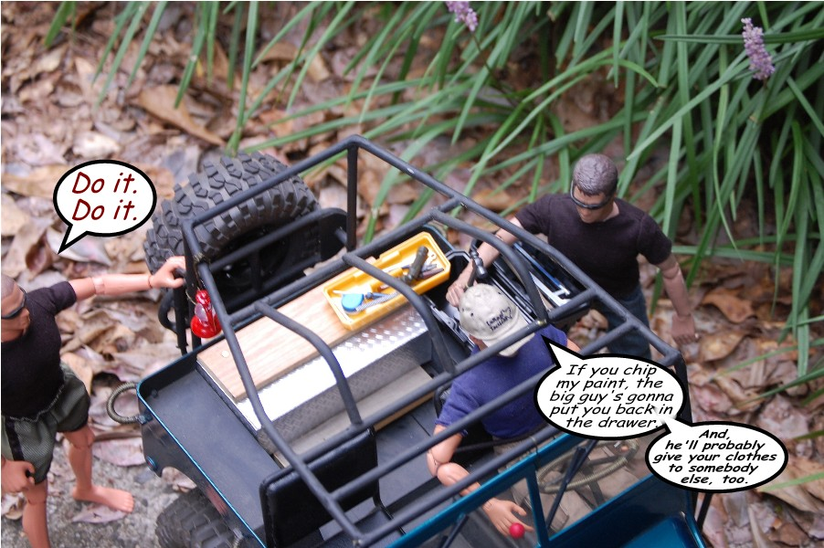 Building an RC sixth scale Jeep 46679389781_4ef1d76a7a_o