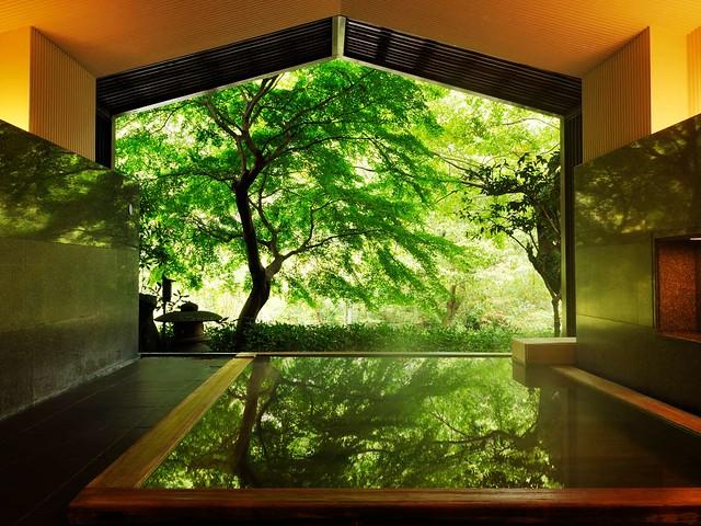 星野リゾート風呂
